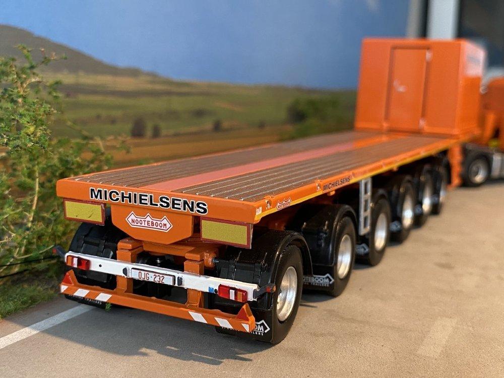 IMC IMC Scania R5 Lowline 6x4 with Nooteboom 6 axle Ballasttrailer Michielsens