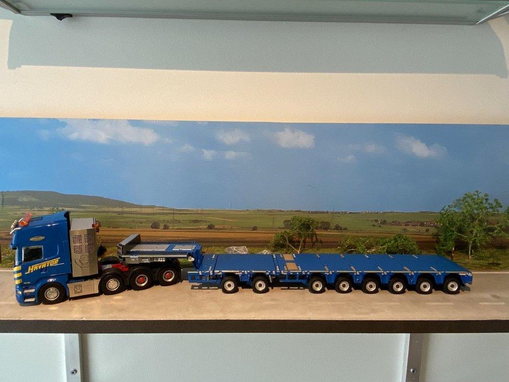 IMC IMC Scania R6 Topline 8x4 with MCO-PX 2+6 axle with LTM 11200-9.1 Saddles Havator