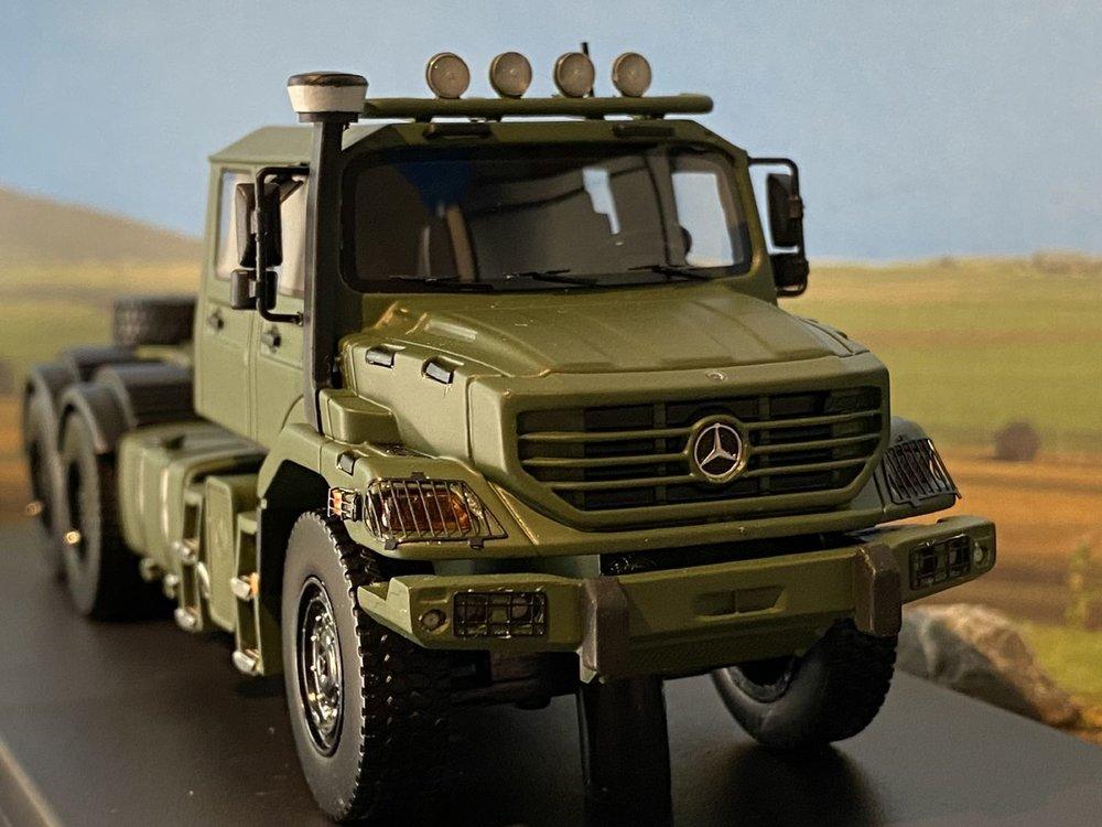 IMC IMC Mercedes-Benz Zetros Dual Cab 6x6 Army Green
