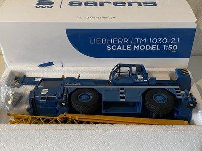 Sarens store Conrad Liebherr LTM 1030-2.1 mobile crane Sarens