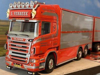 Tekno Tekno Scania R620 combi aardappel bakken S. Verbeek