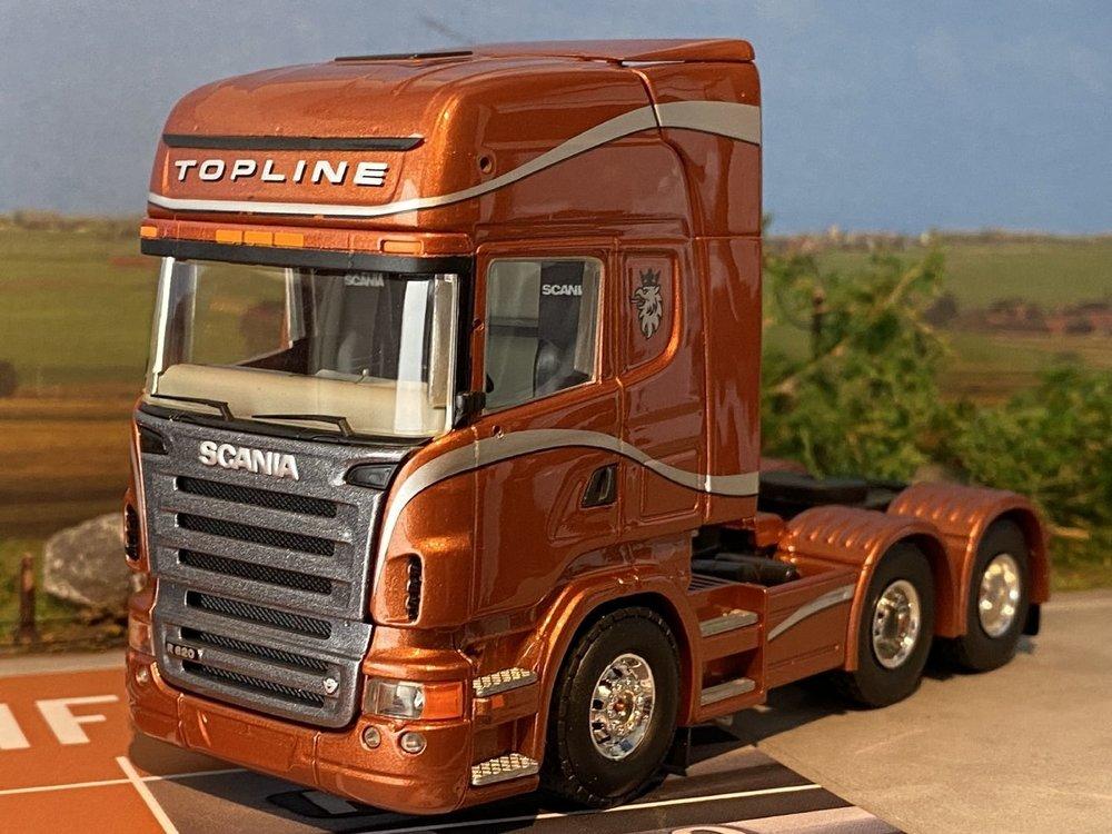 Tekno Tekno Scania R620 Topline 6x2 & R420 Highline  RAI 2005 edition