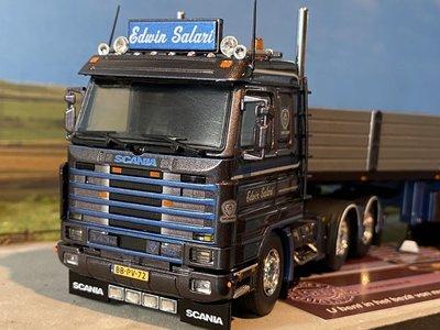 Tekno Tekno Scania 143M streamline 6x2 with stone trailer Edwin Salari