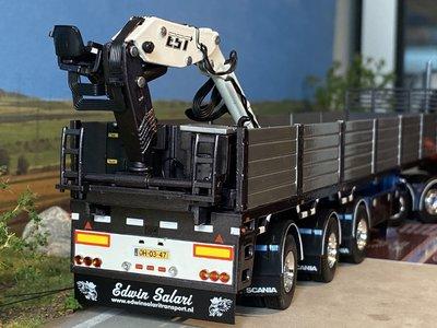 Tekno Tekno Scania 143M streamline 6x2 met stenenoplegger Edwin Salari