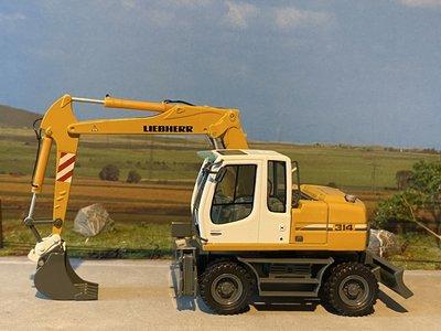 NZG NZG Liebherr A 314 Litronic excavator