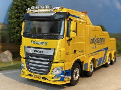 WSI WSI DAF XF Super Space Cab 8x4 Falkom Hooikammer