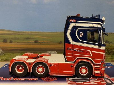 Tekno Tekno Scania S520 Highline 6x2 Peter Wouters PWT
