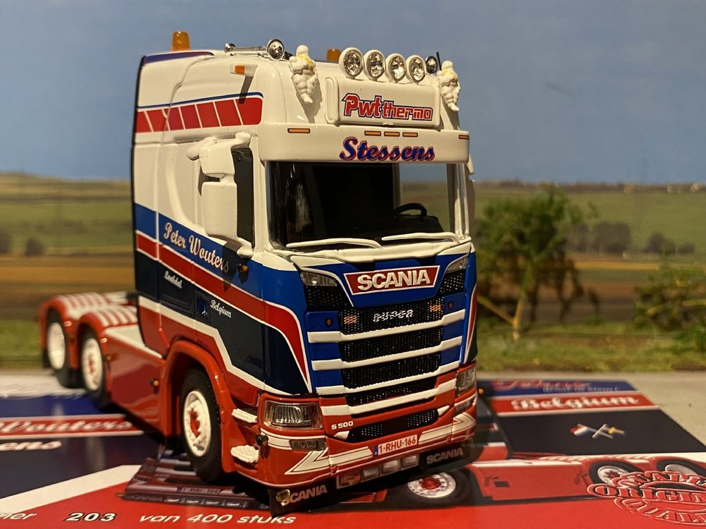 Tekno Tekno Scania S500 Highline 6x2 Peter Wouters PWT