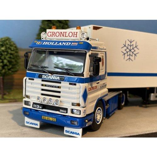 WSI WSI Scania 113M streamliner 4x2 met koeloplegger Gronloh