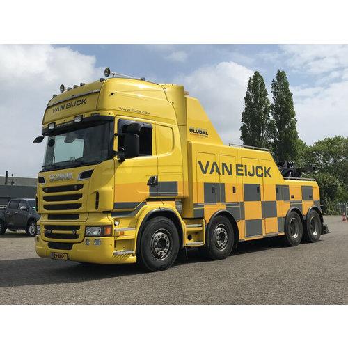 WSI WSI Scania R6 Topline 8x4 Falkom van Eijck