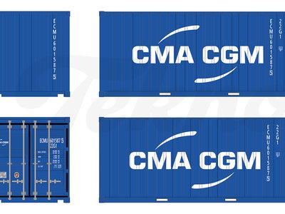 Tekno Tekno Losse 20ft. container CMA CGM