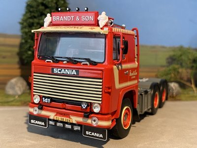 WSI WSI Scania 141  6x2 single truck Brandt & Son