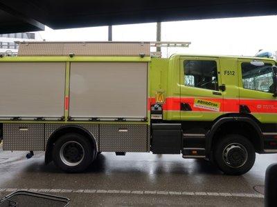 Tekno Tekno Scania Next Gen Crew Cab P28 met brandweer opbouw Zwitserse brandweer