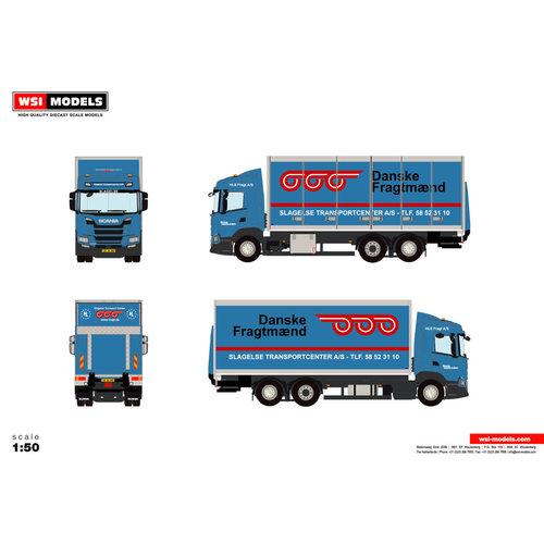 WSI WSI Scania G 6x2 bakwagen 3-as HLS Fragt