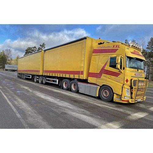 WSI WSI Volvo FH4 Globetrotter XXL 6x4 LZV combinatie Jimmie Karlsson