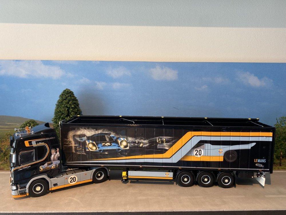 Tekno Tekno Scania Next Gen R-serie Highline met 3-assige cargofloor Repinski