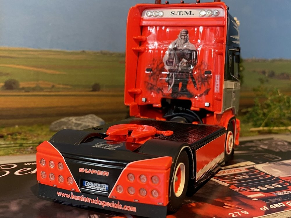 Tekno Tekno Scania R Topline 4x2 S.T.M.