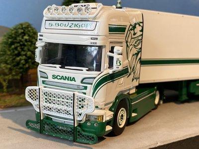 WSI WSI Scania Streamline Topline 4x2 reefer trailer S. Bouzigon