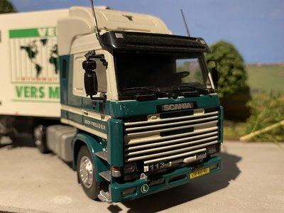 "Tekno Tekno Scania 113M met koeloplegger Booy Twello ""Versmarkt"""