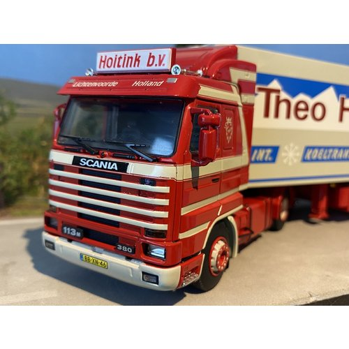 WSI WSI Scania 113M streamliner 4x2 met koeloplegger Hoitink