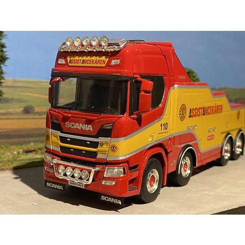 WSI WSI Scania R Highline 8x4 Falkom Assistancekaren
