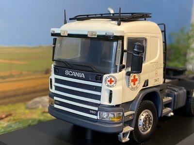 Tekno Tekno Scania P 4-serie slaapcabine Red Cross