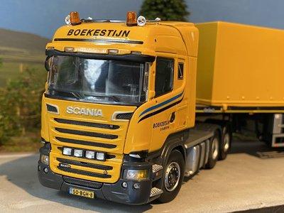 IMC Tekno/IMC Scania R-Streamline Highline 6x4 + Nooteboom ballasttrailer 7 axle Boekestijn