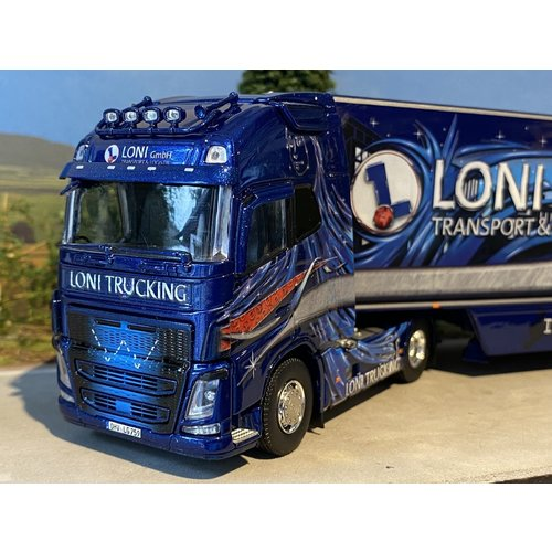 Tekno Volvo FH04 Globetrotter XL met koel oplegger Loni GmbH