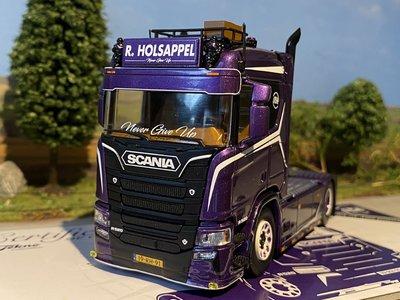 Tekno Tekno Scania Next Gen R-serie 4x2 - De droom van Robin Holsappel -  Never give up!