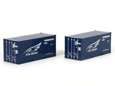 WSI WSI Premium line 2 x 20ft. container NYK Logistics