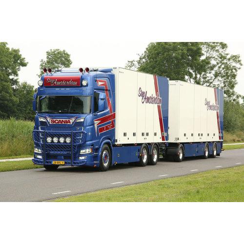 WSI WSI  Scania S Highline 6x2 rigid box truck - 6 axle combi SIEP Amsterdam