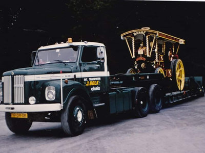 WSI WSI Scania L110 sleepercab Torpedo 6x4 lowloader ODU -1 axle Bolk Transport