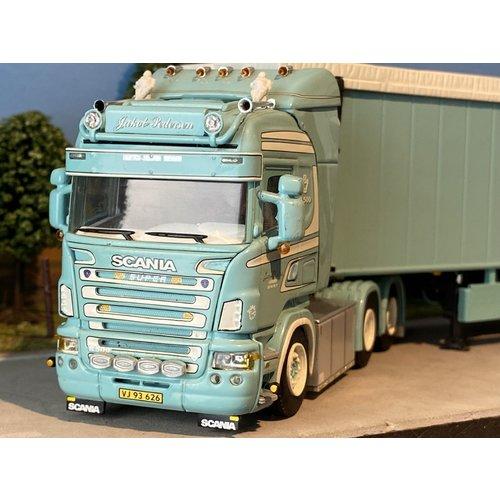WSI WSI Scania R Highline 6x2 met cargo floor oplegger Jakob Pedersen