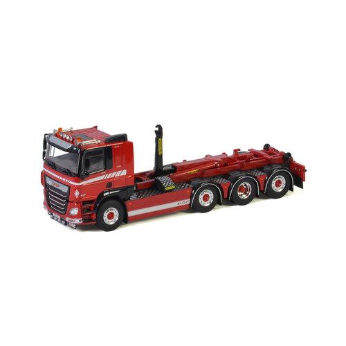 WSI WSI DAF CF MY2017 8x2 rigid truck + hooklift system Premium line
