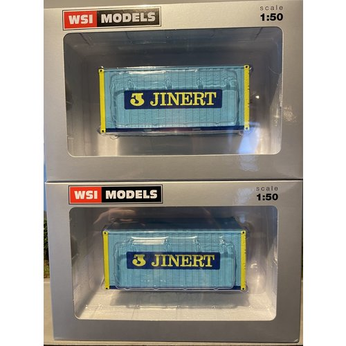 WSI WSI  20ft. container with lifting straps Jinert