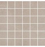McTile Caprera Feinsteinzeug Mosaik 0505961N Hellgrau (5x5), rektifiziert / R10B - 30x30cm