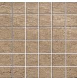 McTile Fidenza Feinsteinzeug Mosaik 0505322N Sabbia (5x5), rektifiziert / R10B - 30x30cm