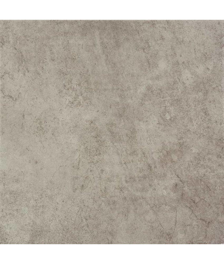 Teramo Feinsteinzeug Bodenfliesen 3333115N Cementgrau / R9 - 33x33cm