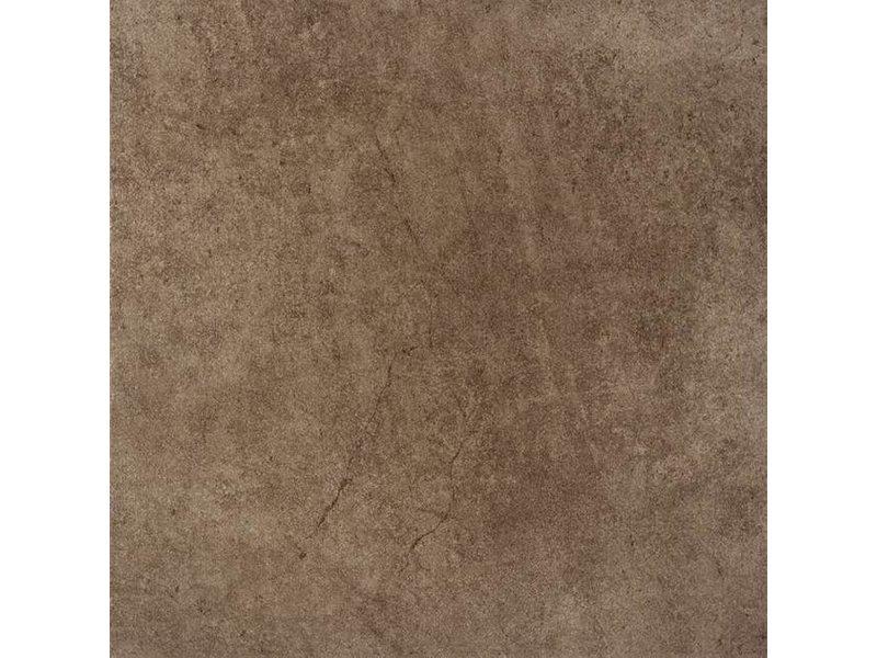 McTile Teramo Feinsteinzeug Bodenfliesen 3333118N Mokkabraun / R9 - 33x33cm