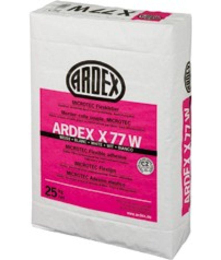 X 77 W – MICROTEC Flexkleber, weiß (25 Kg)