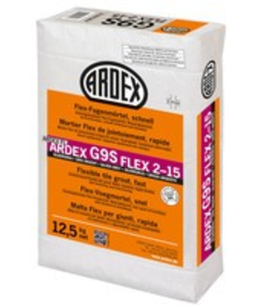 G9 S FLEX 2-15 – Flex-Fugenmörtel, schnell
