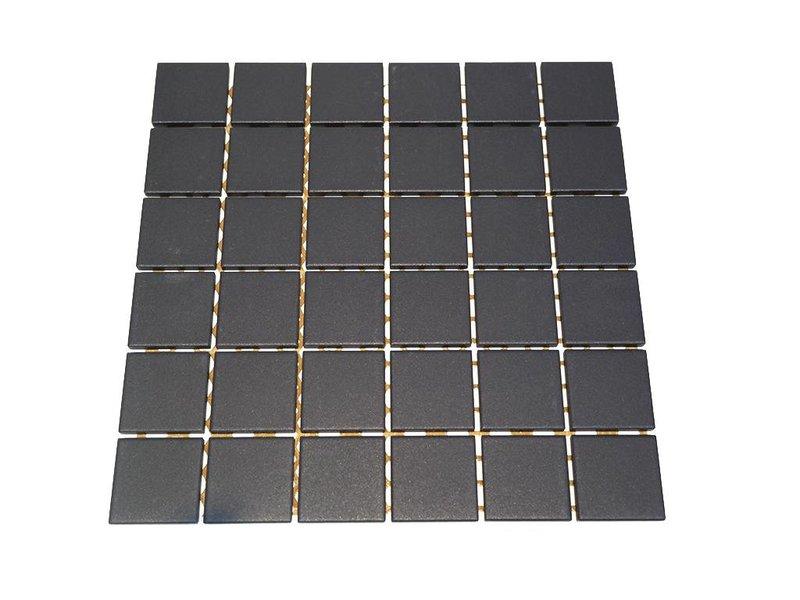 BÄRWOLF Keramik Mosaikfliesen UG-5017 Grip black