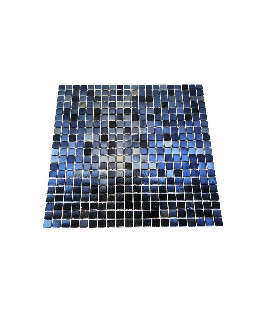 Glasmosaik-Fliesen GL-K24 reflex black