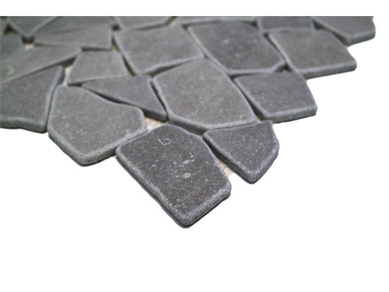 BÄRWOLF Natursteinfliesen RM-0009 Crush ice grey