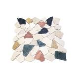 BÄRWOLF Natursteinfliese RM-0007 Crush Multicolor