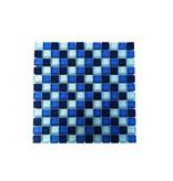 GLASMOSAIK FLIESEN - blau mix - G002