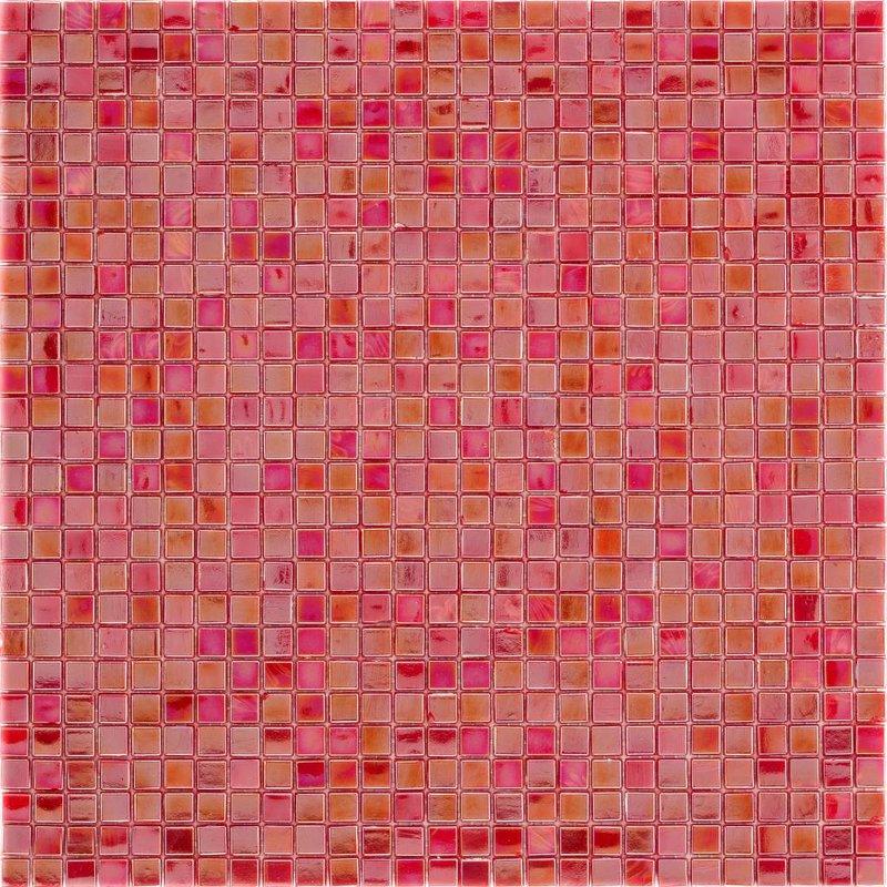 Glasmosaik Mini Red, glänzend - 30x30cm