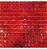 BÄRWOLF BÄRWOLF Glasmosaik-Fliesen GL-10002 Vulcano