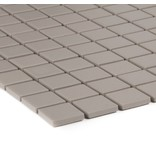 Feinsteinzeugmosaik Grau - 32,7 cm x 30 cm