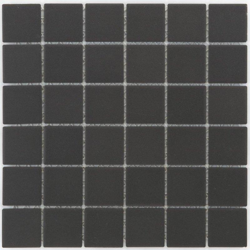 Feinsteinzeugmosaik Schwarz - 29,1 cm x 29,1 cm
